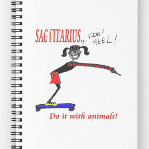 Spiral notebooks for every sign