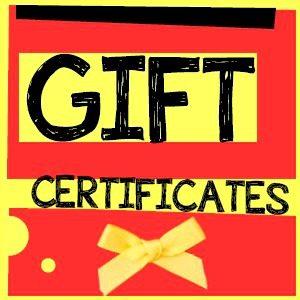 Tarot reading Gift Certificates