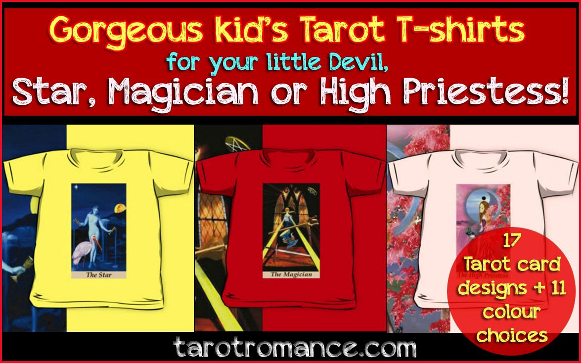 Gorgeous Tarot Tees for your little Stars & Devils!