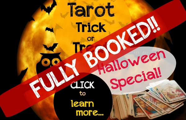 Halloween Special - booked out!